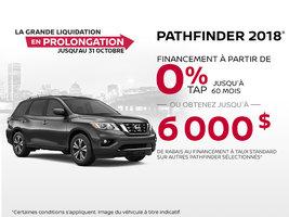 La Nissan Pathfinder 2018