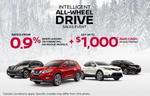 Intelligent All-Wheel Drive Sales Event!