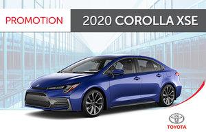 2020 Corolla XSE CVT