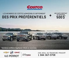 Costco - Prix préférentiel GMC