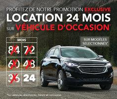Location 24 mois sur véhicule d'occasion