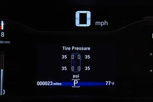 Honda Technology: Tire Pressure Monitoring System (TPMS) with Tire Fill Assist