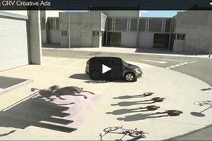 Publicité créative par Honda