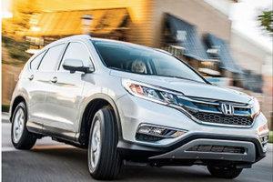 VUS de l'année selon Motor trend: Honda CR-V 2015