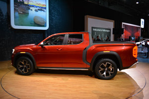 Volkswagen surprises everyone with Atlas Tanoak pickup in NYC