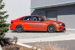 Three 2019 Volkswagen Jetta models presented in Las Vegas at SEMA