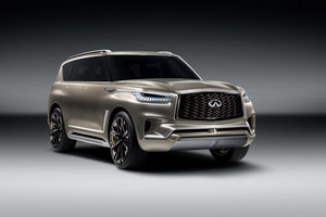The new Infiniti QX80 Monograph is born in New York
