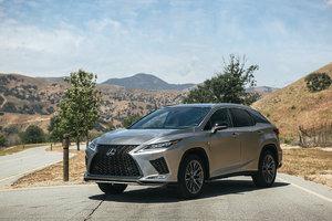 Les essais routiers du Lexus RX 2020 sont sorties