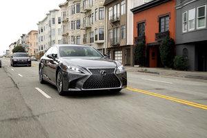 Lexus LS 2019 : fusion géniale entre une berline et un coupé