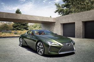 La Lexus LC 500 Inspiration 2020 : un chef-d'œuvre en édition limitée
