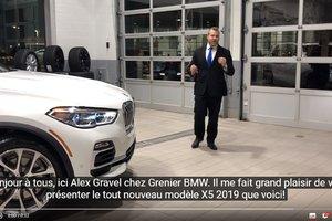 Présentation du nouveau BMW X5 2019!