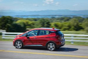 Plus de 400 kilomètres d'autonomie pour la Chevrolet Bolt 2020