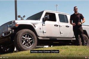 Here's the Jeep Gladiator Overland !