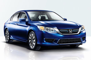 2015 Honda Accord Hybrid: two motors, one vision