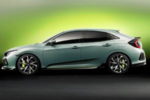 La Civic Hatchback 2017 dévoilée