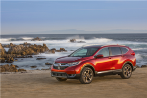 2017 Honda CR-V: spacious, safe and efficient