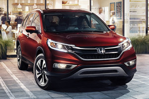 2015 Honda CR-V - Lots of new for Honda's small crossover SUV