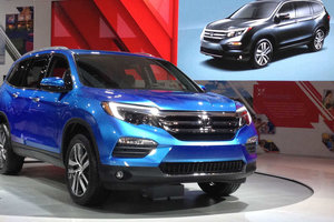 2016 Honda Pilot : completely redesigned and offering even more