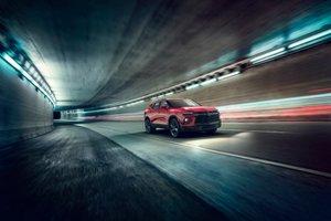 Un design audacieux définit le Blazer 2019 de Chevrolet