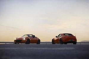 Mazda dévoile l'édition du 30e anniversaire de la MX-5, de couleur Racing Orange