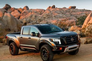 Nissan Titan and Rogue Warrior: Nissan Shows its Grit