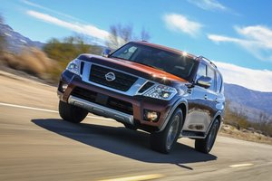 2017 Nissan Armada: Ruggedly Refined