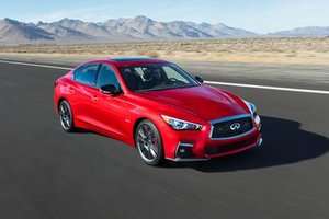 2018 Infiniti Q50: same performance with an improved design