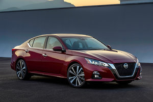 Significant changes for the 2019 Nissan Altima