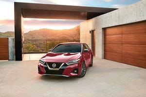 2019 Nissan Maxima priced at $40,790