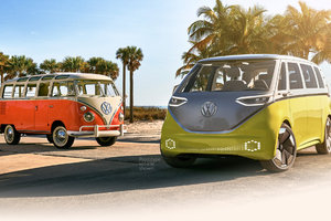 It's official: The VW Bus is back, and it's electric