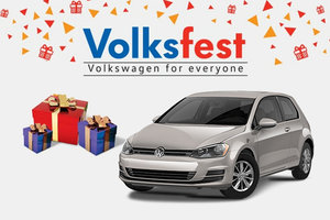 RECEIVE BIG SAVINGS ON THE 2015 VOLKSWAGEN GOLF AT HUMBERVIEW VOLKSWAGEN'S VOLKSFEST EVENT
