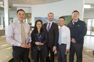 William Tam & Candice Cheuk : Sales Guild Award Winners