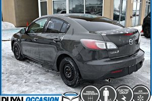 Mazda3 GX + **SEULEMENT 109000KM** + GROUPE ELECTRIQUE 2010