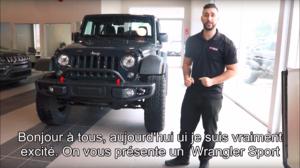 Jeep Rhino - Wrangler Sport