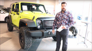 Jeep Wrangler Star Unlimited - Green Lantern