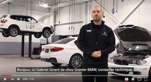 La valeur ajoutée Grenier BMW