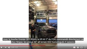OFF-ROAD : RAM 1500 SPORT 2019