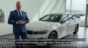Présentation de la nouvelle BMW Série 3 2019