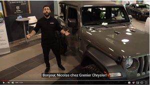 Jeep Wrangler 2 portes STING GRAY