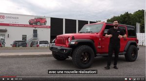 Jeep Wrangler UNLIMITED Sport ROUGE