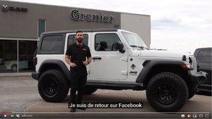 Projet Grenier OFFROAD - Jeep Wrangler UNLIMITED Sport blanc