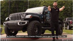 Voici notre dernière modification OFFROAD : Jeep Gladiator Overland !