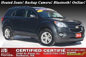 2013 Chevrolet Equinox LT - FWD Heated Seats! Backup Camera! Bluetooth! OnStar!
