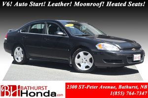 2008 Chevrolet Impala LT 50th Anniversary 3.5L V6 - 211hp! Auto Start! Leather! Power Moonroof! Heated Seats! OnStar!