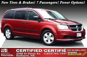 2015 Dodge Grand Caravan Canada Value Package - Low Km's! Low Km's! New Tires & Brakes! 7 Passengers! Keyless Entry! Power Options!