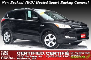 2014 Ford Escape SE - 4WD New Brakes! 4WD! Heated Seats! Backup Camera!