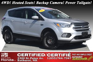 2017 Ford Escape SE - 4WD 4WD! Heated Seats! Backup Camera! Power Tailgate!