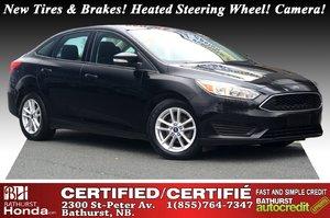 2016 Ford Focus SE New Tires & Brakes! Heated Steering Wheel! Backup Camera! 6-speaker Audio! 6 Speed Automatic!