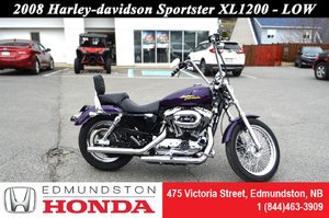 2008 Harley-Davidson Sportster 1200 - LOW