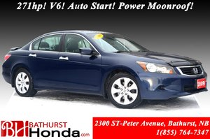 2009 Honda Accord Sedan EX - V6 271hp! V6! Auto Start! Power Moonroof! 8-way Power Driver's Seat!